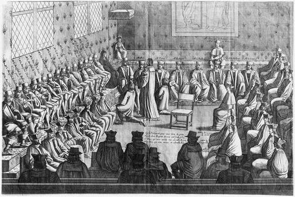 Session of Parliament presided by Regent Anne of Austria