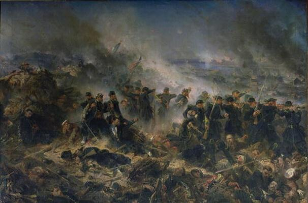 The Gervais Battery at the Siege of Sebastopol, 18th June 1855
