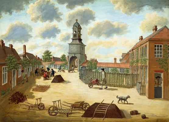 Laboratory Square. c.1750