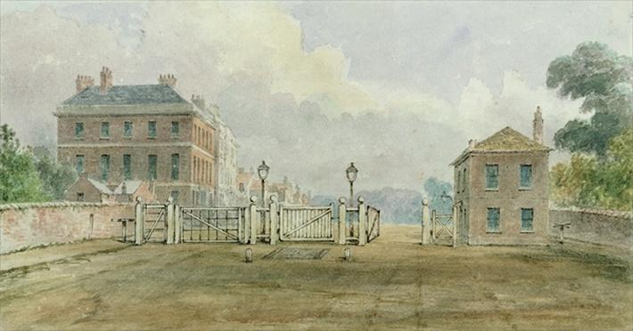 Hyde Park Corner Turnpike, 1785