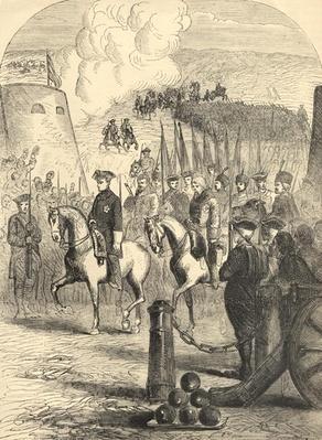 Charles XII of Sweden entering Copenhagen