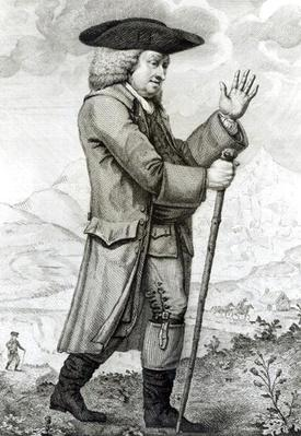 Dr Johnson in his Travelling Dress, 1786