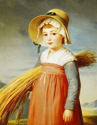 The Little Gleaner, 1824