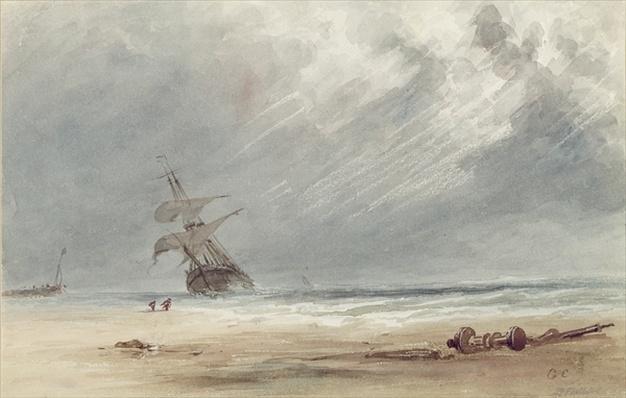 Storm Over a Coast