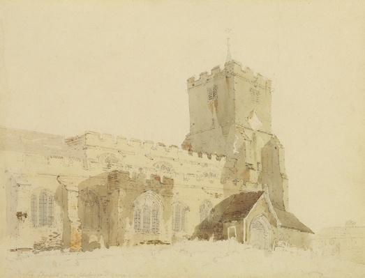 Writtle Church, Essex, c.1795