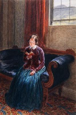 A Lady Reading, called Mrs William Hunt, c.1835