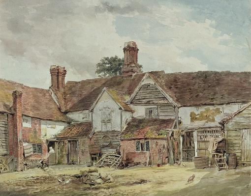 Old Farm Buildings, c.1815