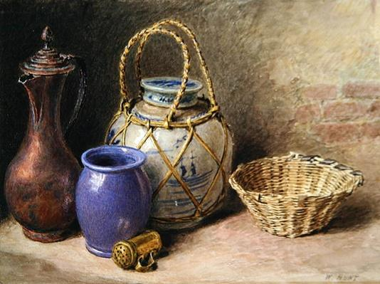Still Life with Ginger Jar, c.1825
