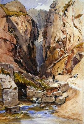 The Castalian Spring, Delphi, c.1895