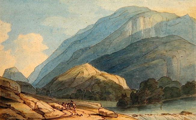 The Entrance into Borrowdale, c.1786