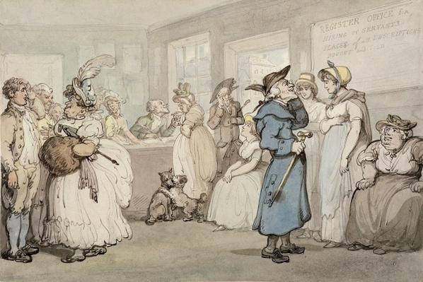 Register Office for the Hiring of Servants, c.1805