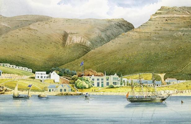 The Admiral House, Simon's Town, Cape of Good Hope, 1844