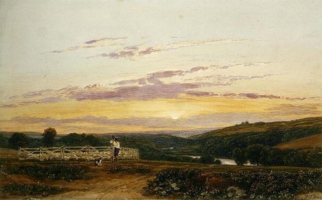 The Shepherd, Evening