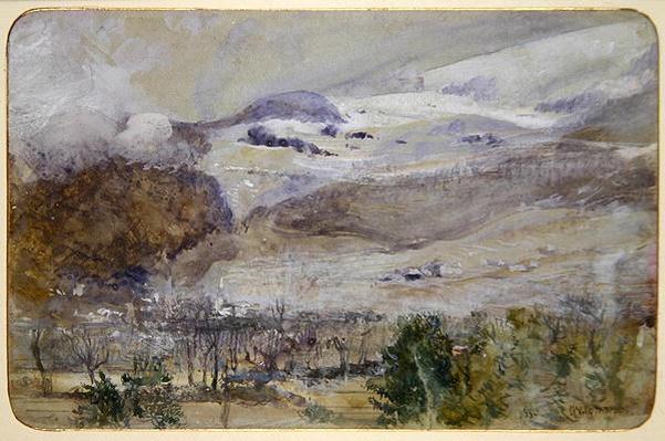 Swiss Valley Landscape, 1885