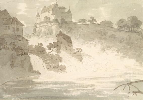 Falls at Schauffhausen, 1782