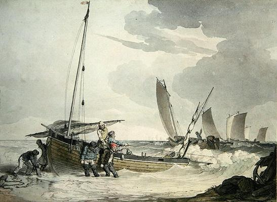Fisherman putting out to Sea, c.1810