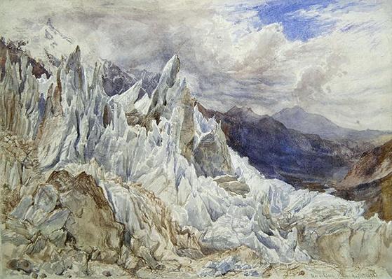 Mer de Glace, 1856
