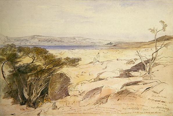 The Dead Sea, 1858