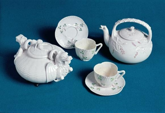 Belleek tea service