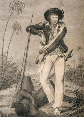 Self Portrait, from 'Narrative of a Five Years' Expedition against the Revolted Negroes of Surinam...', 1796