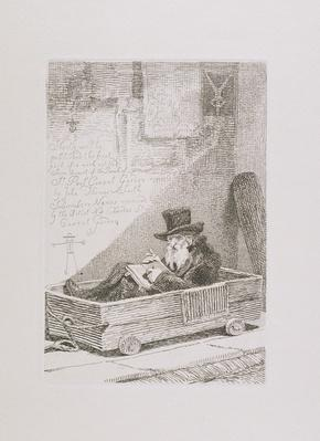 Jewish Merchant, from 'Etchings of Remarkable Beggars, Itinerant Traders and Other Persons...', 1815