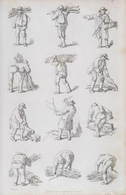 Illustration from 'Etchings of Rustic Figures: for the Embellishment of Landscape', 1815