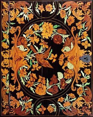 Marquetry box, English, c.1670