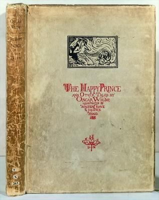 Titlepage of 'The Happy Prince and other Tales' by Oscar Wilde, 1888