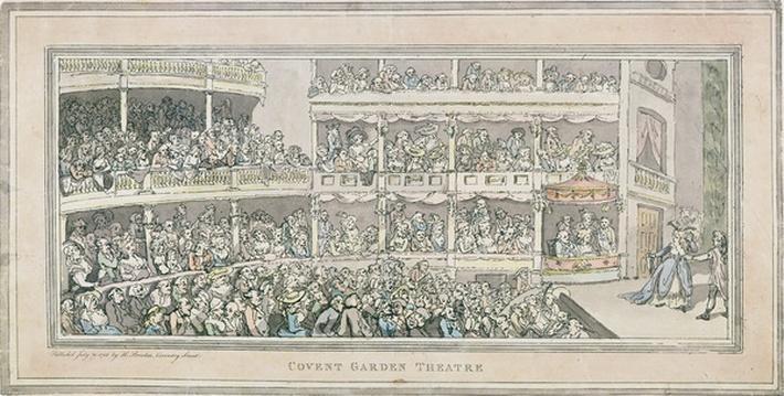 Covent Garden Theatre, 1786