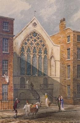 View of Ely Chapel, 1815