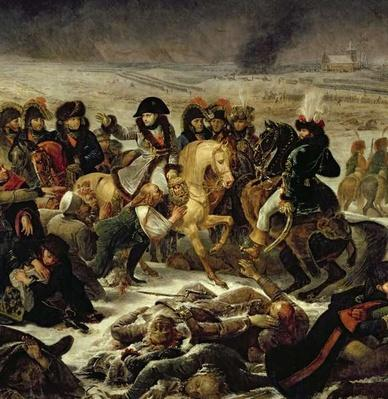 Napoleon on the Battle Field of Eylau, 9th February 1807, 1808