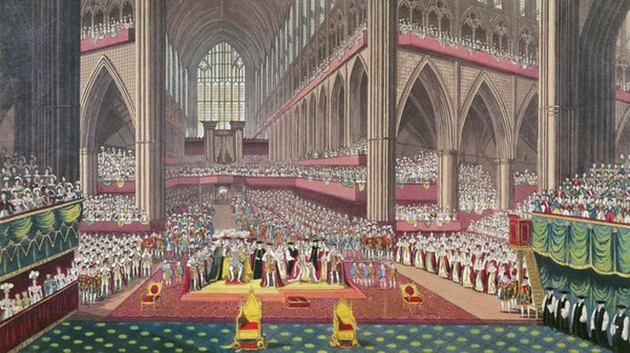 The Coronation of King William IV and Queen Adelaide, 1831