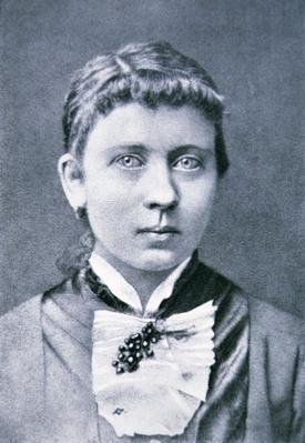 Photograph of Klara Schicklgruber, mother of Adolf Hitler