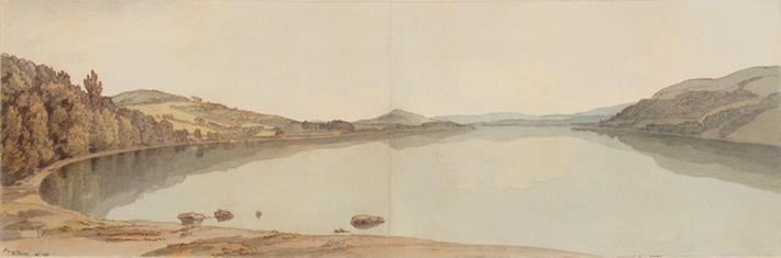 Lake Windermere, 1786