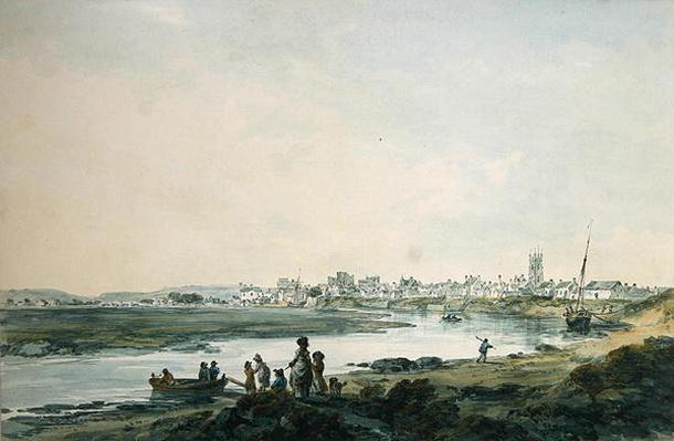 Cardiff from the South, c.1789