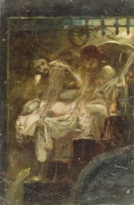 Study for Burying the Royal Children, c.1790