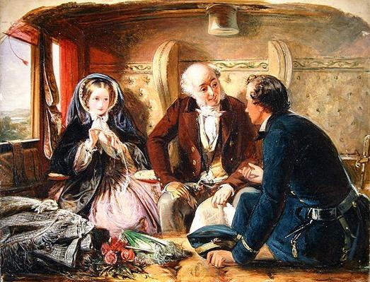"First Class - The Meeting ""And at first meeting loved."", 1855"
