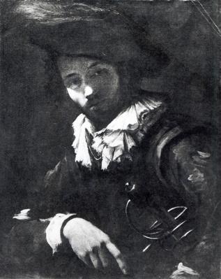 Portrait of a mercenary, 1621-25