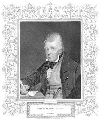 Portrait of Walter Scott