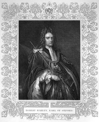 Portrait of Robert Harley, Earl of Oxford