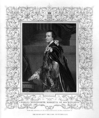 Portrait of Charles Wentworth, Marquis of Rockingham