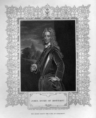 Portrait of John Duke of Montagu