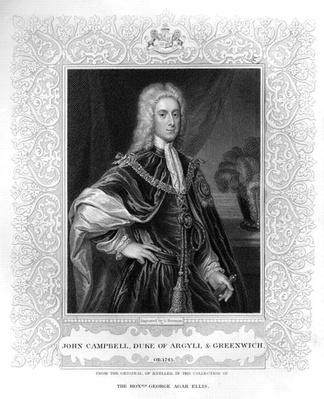 Portrait of John Campbell, Duke of Argyll and Greenwich