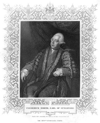 Portrait of Frederick North, Earl of Guildford