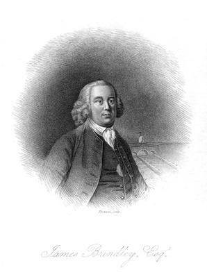 Portrait of James Brindley