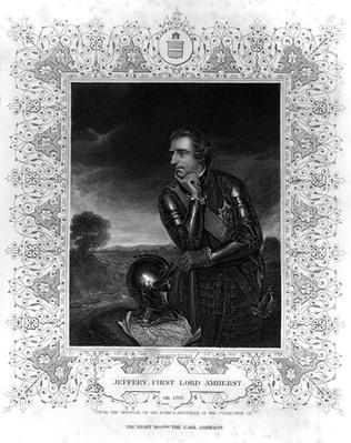 Portrait of Sir Jeffrey Amherst
