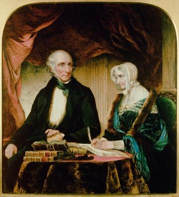 Portrait of William and Mary Wordsworth, 1839
