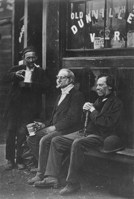 Wall Workers from 'Street Life in London', 1877-78