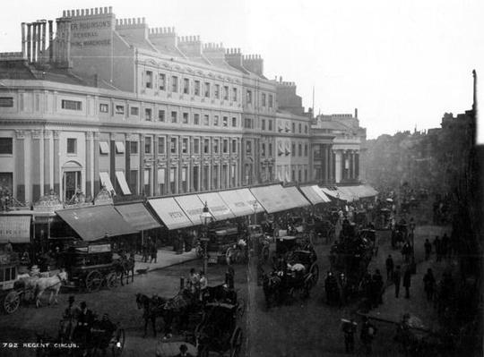 Regent Circus, London, c.1890