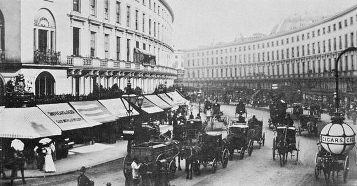 View of Regent Street, c.1884